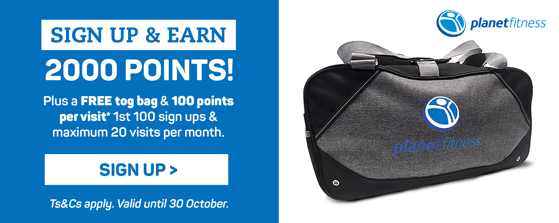 Sign up & earn 2000 points! Sign up