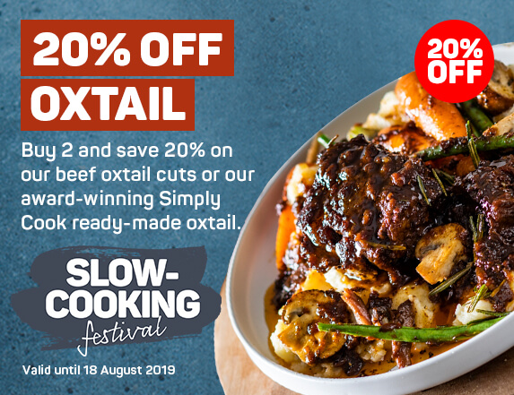 20% off Oxtail