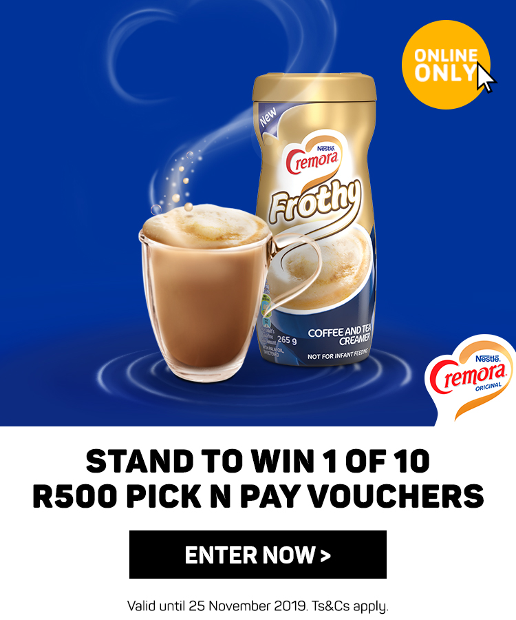 Stand to win 1 of 10 R500 PNP vouches. Enter now