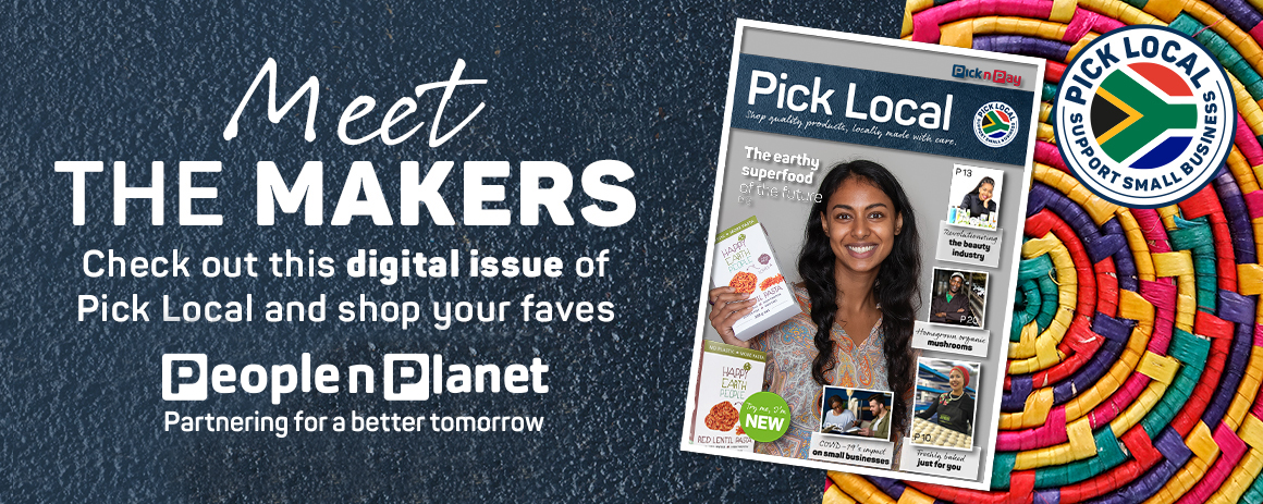 Meet the makers. Check out this digital issue of pick Local and shop your faves