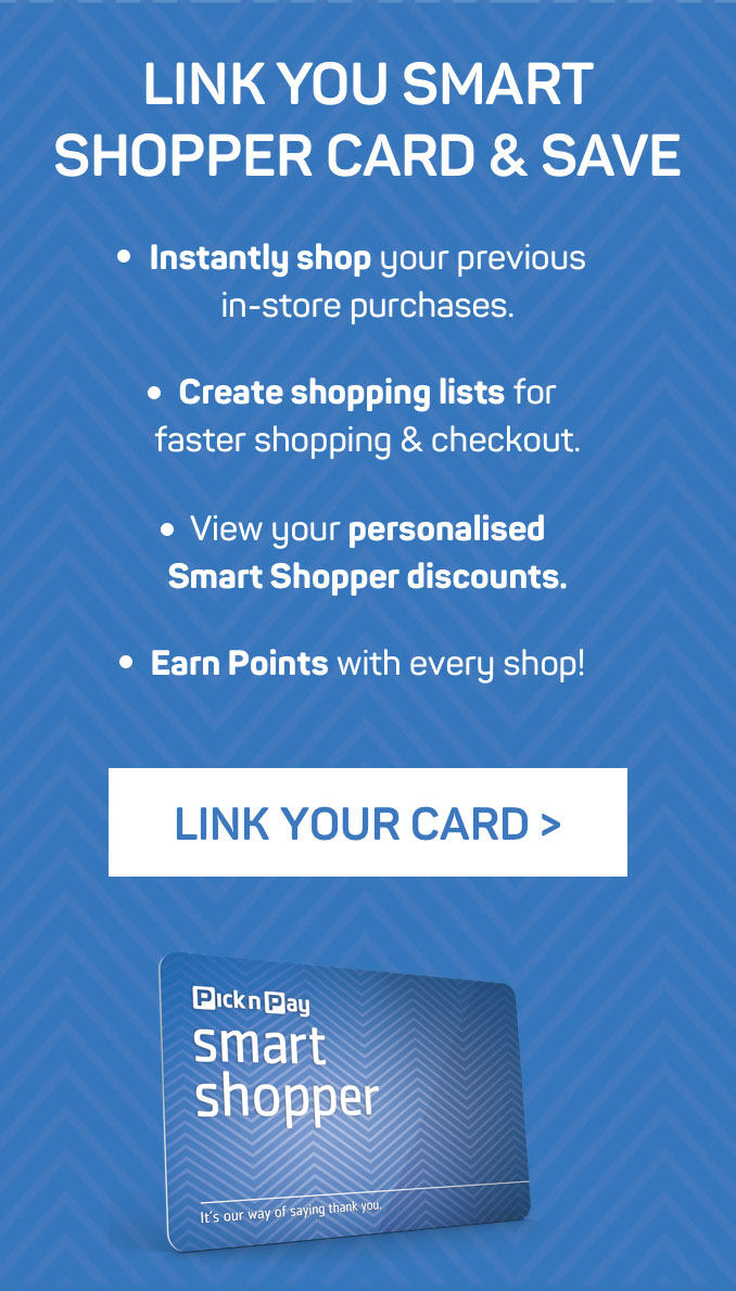 Link your smart shopper card and save >