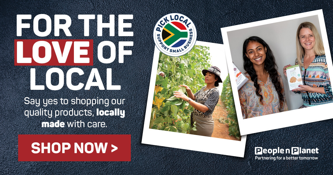 For the love of local. Shop now