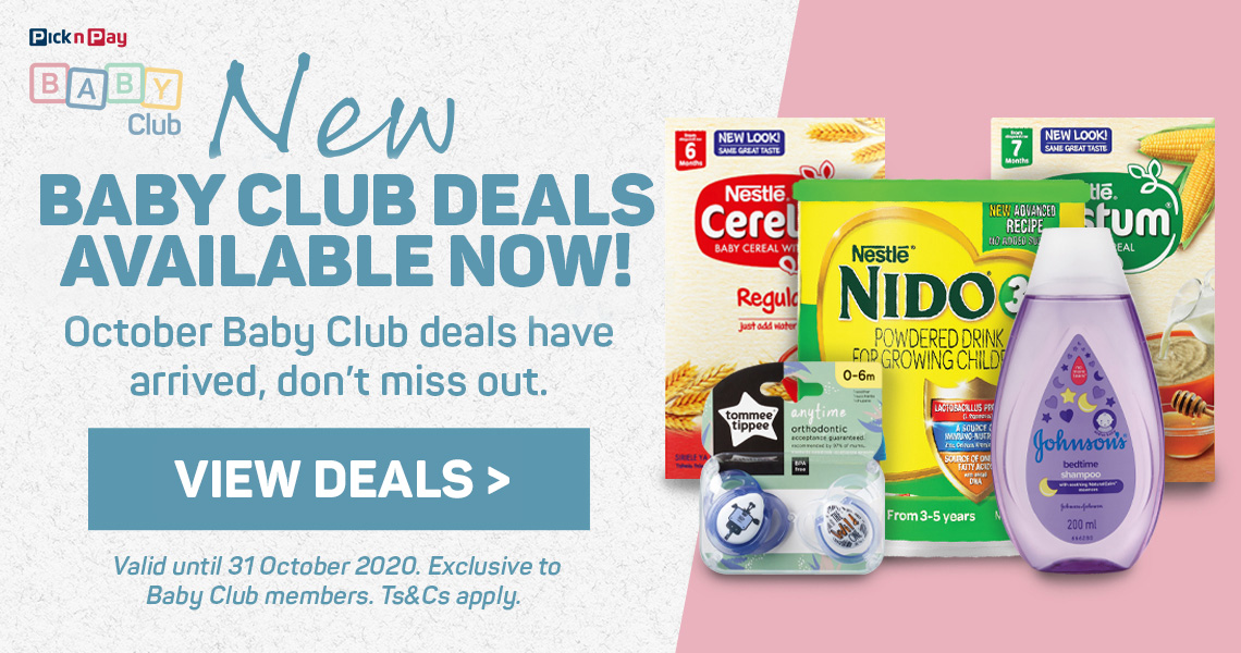 New baby club deals available now. Shop deals