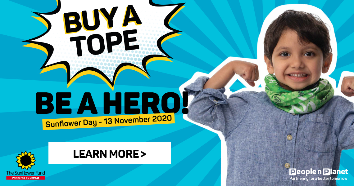 Buy a tope be a hero. Learn more
