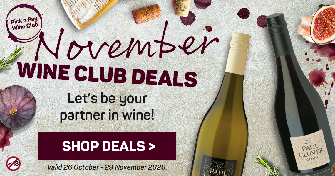 Shop November Wine Club deals
