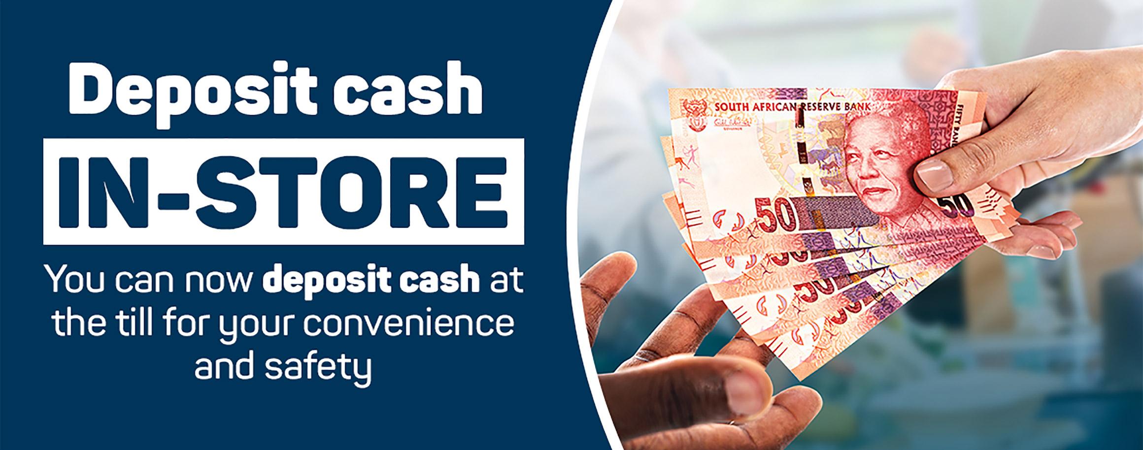 Till Cash Deposits | Pick n Pay Online Shopping