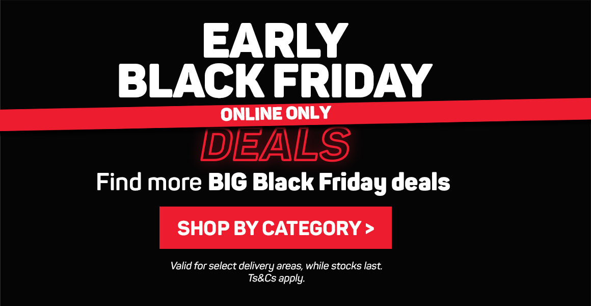 Early Black Friday deals. Online only. Shop by category