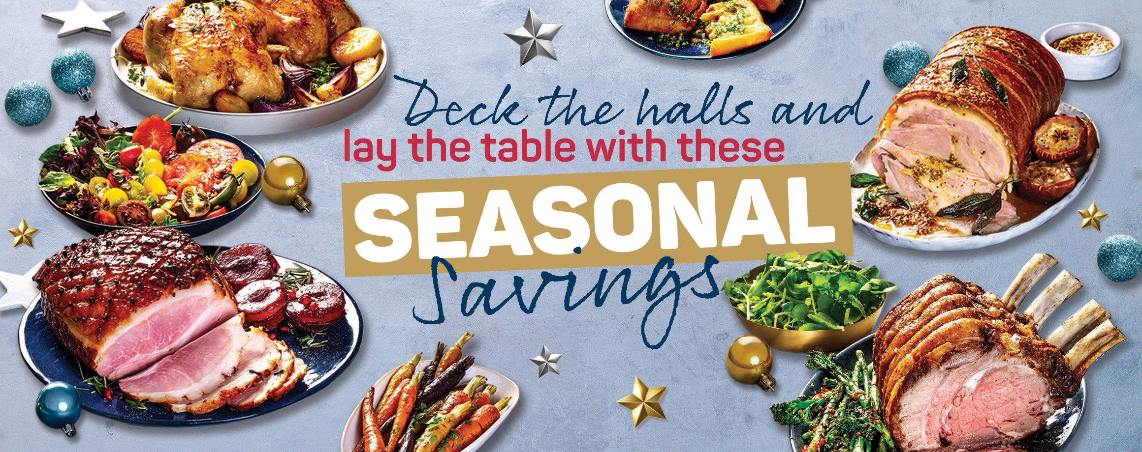 Deck the halls and lay the table with these seasonal savings