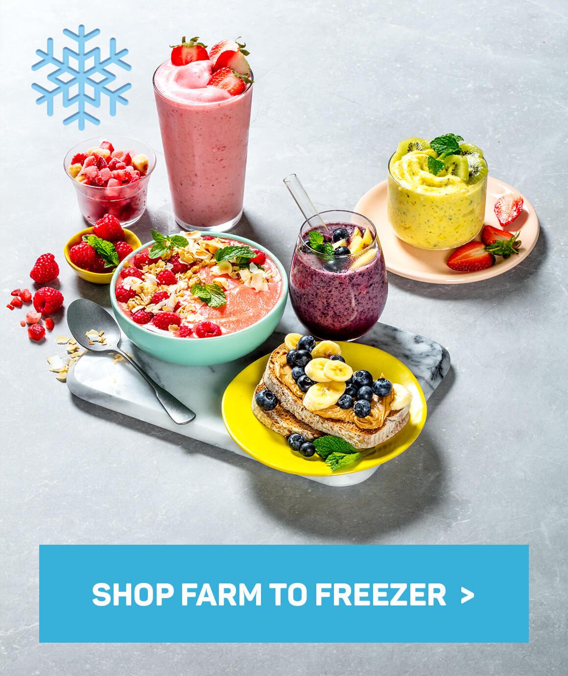 Shop farm to freezer