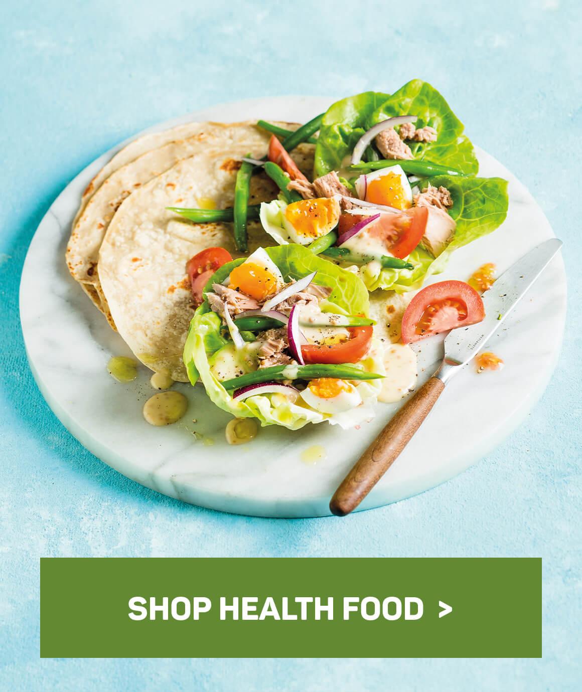 Shop healthy food