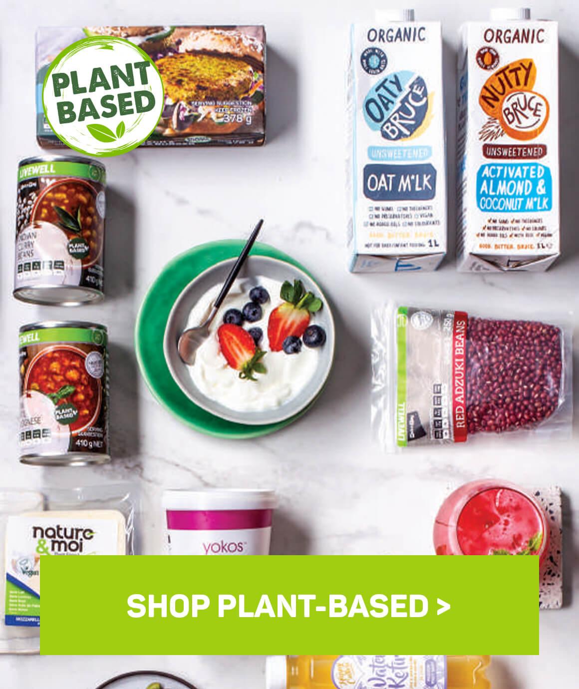 Shop plant-based
