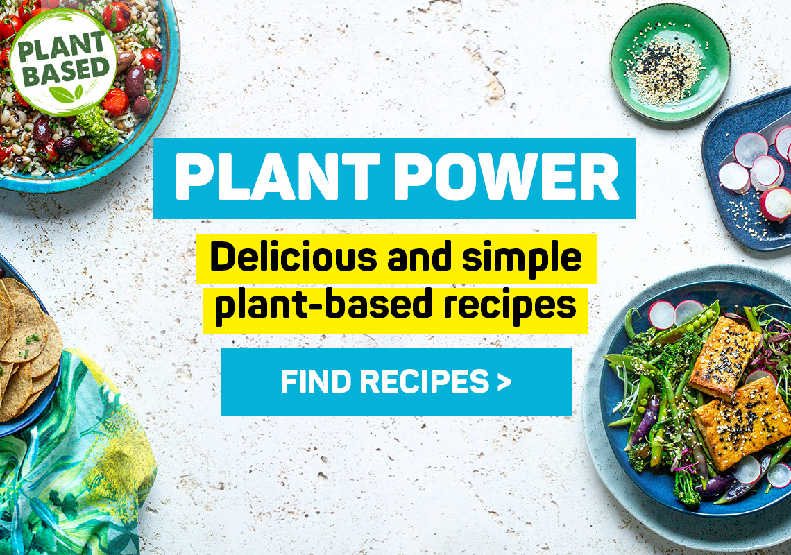 Plant power. Delicious plant-based summer recipes. Find recipes
