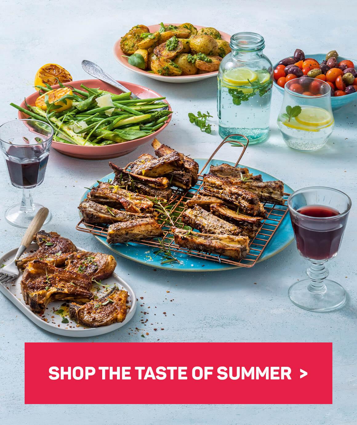 Shop the taste of summer