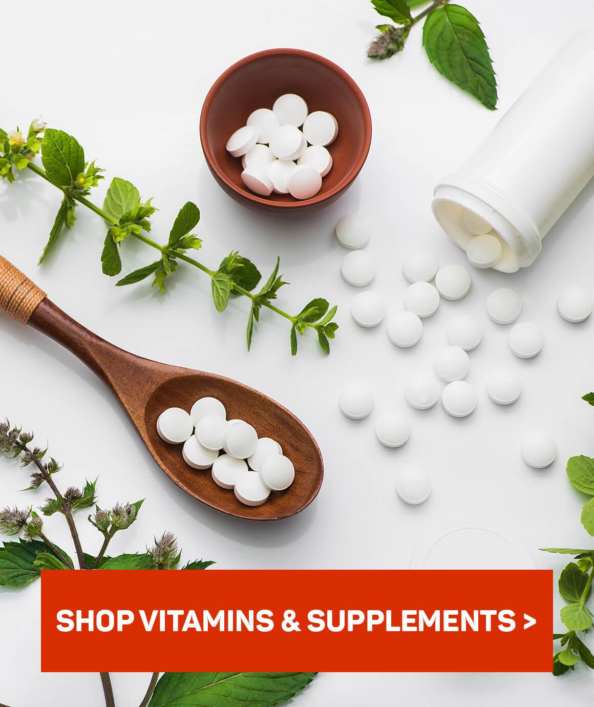 Shop vitamins & supplements