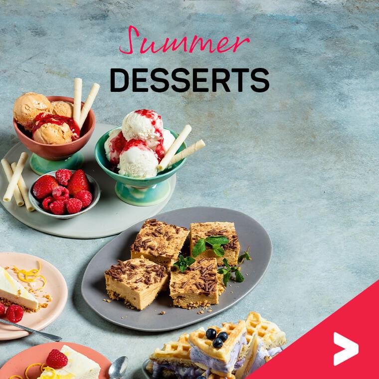 Chilled desserts