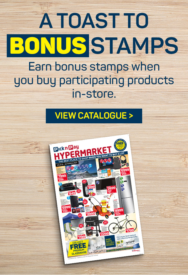 A toast to bonnus stamps