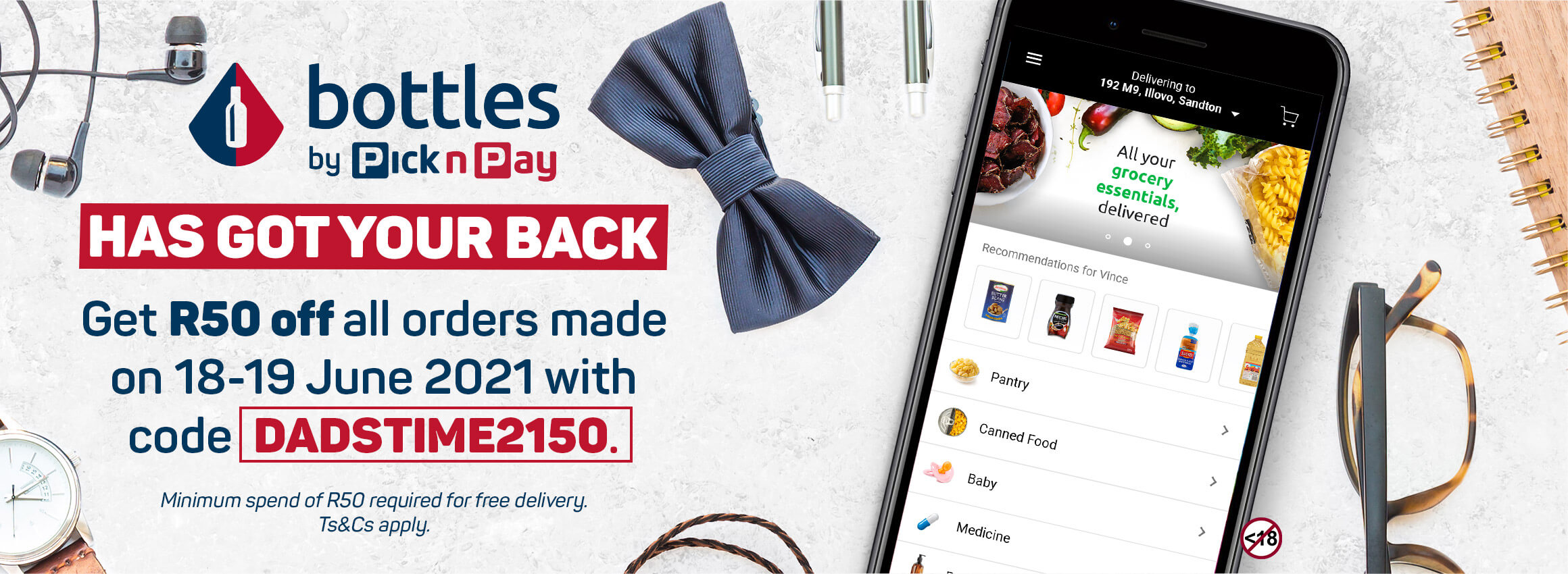 Bottles by Pick n Pay has got your back.