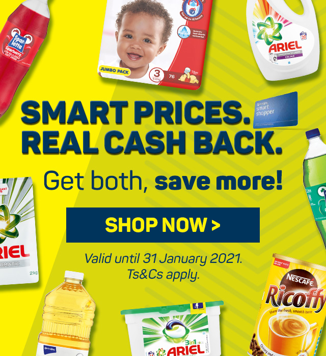 Smart price real cash back. See savings