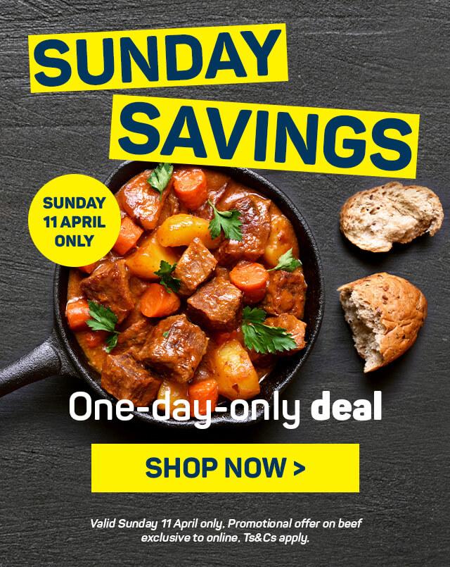 Stew Sunday. shop now