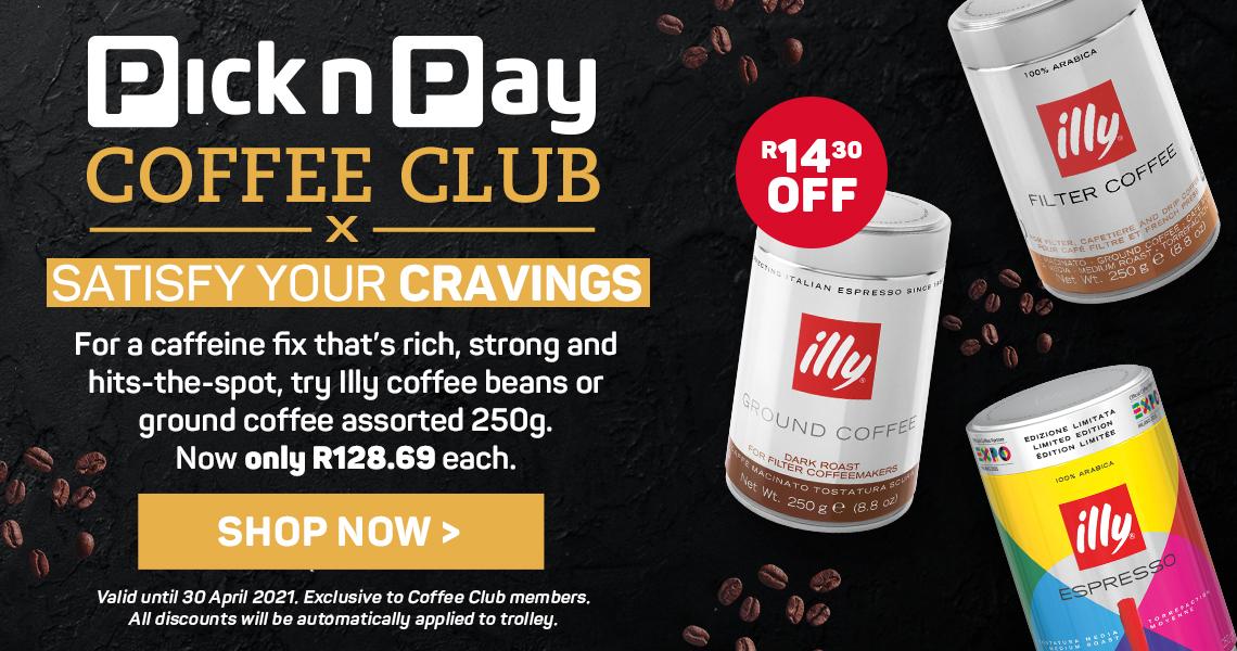 Pick n Pay Coffee Club. Shop now