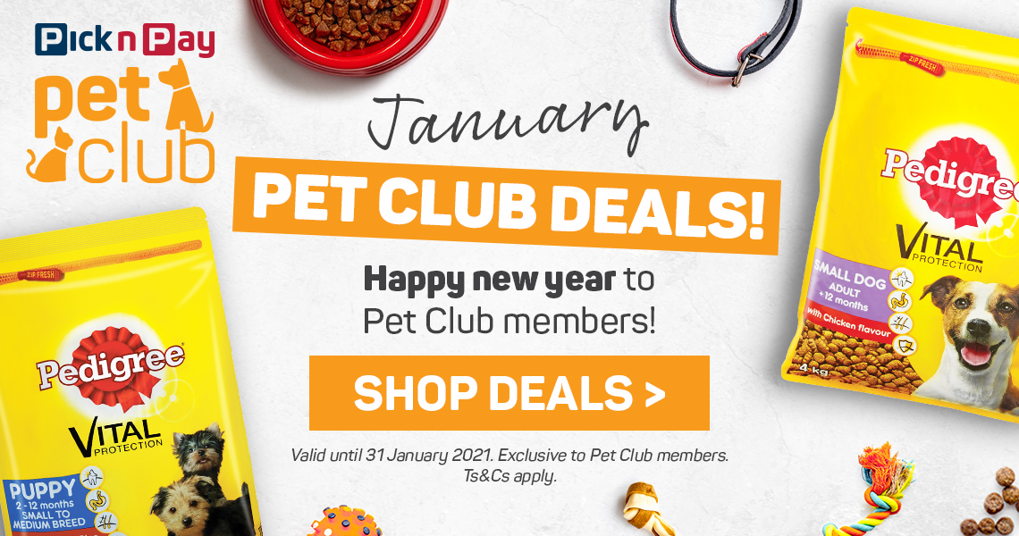 Shop January Pet Club deals