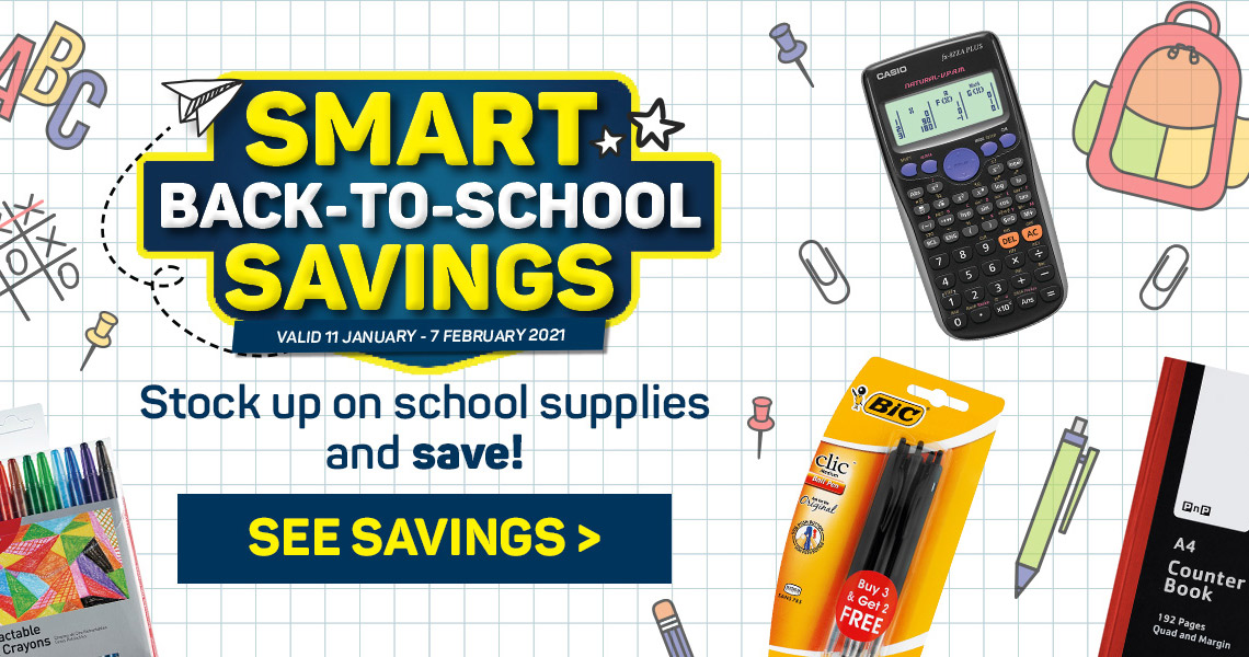 Stock up on school supplies and save