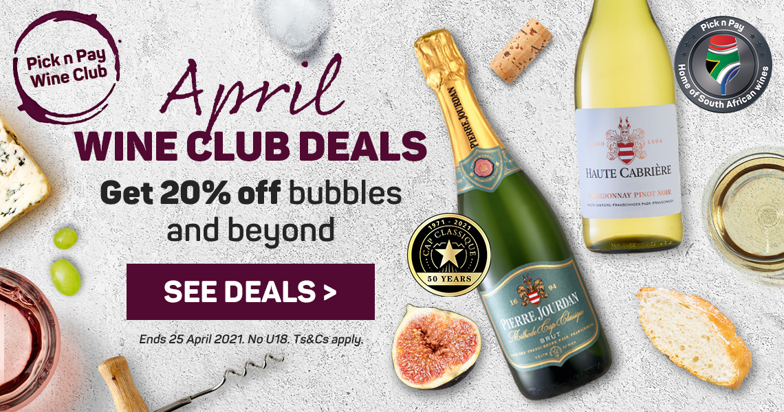 April wine Club Deals. See deals