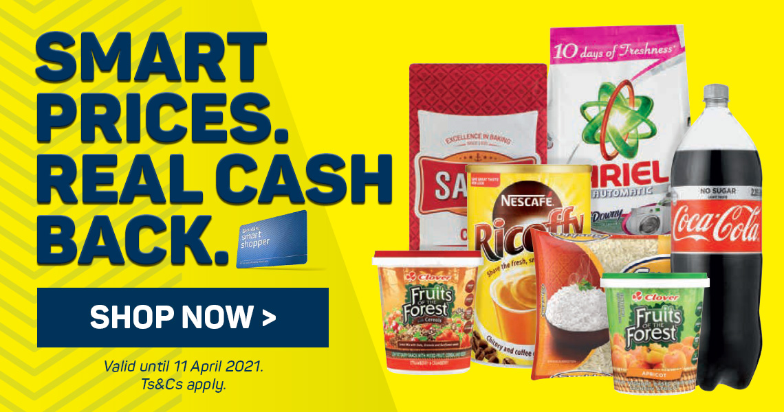 Smart prices real cash back. Shop now