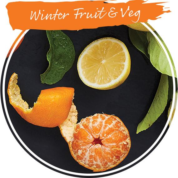 Winter fruits & veg